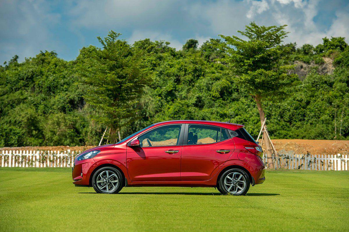 Giá Bán Hyundai i10 2021 Vừa Ra Mắt 5