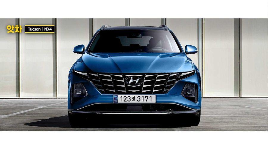 """Thiết kế của Hyundai Tucson 2021 sẽ khiến thế giới """"điên đảo"""" 2"""