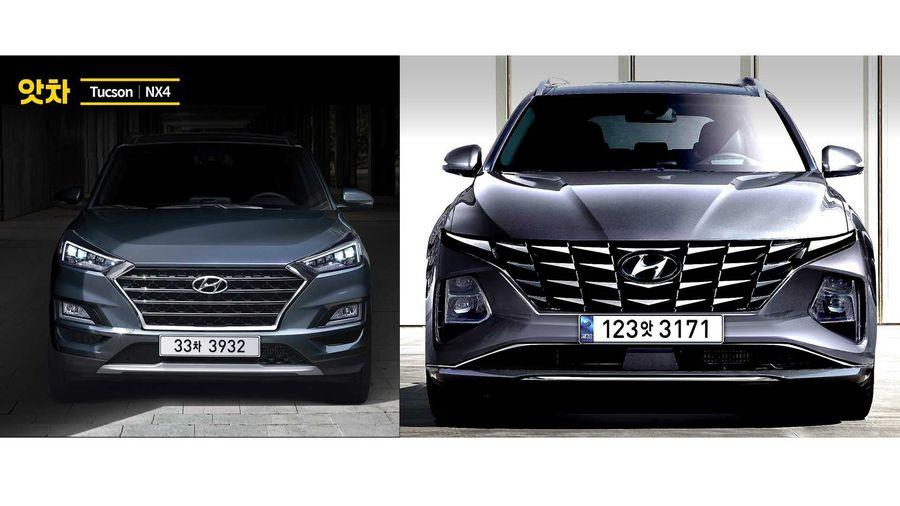 """Thiết kế của Hyundai Tucson 2021 sẽ khiến thế giới """"điên đảo"""" 1"""